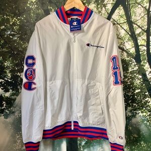 🔥Champion embroidered Baseball patch Jacket XL